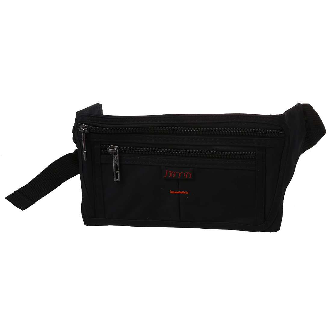 Hot Fashion Waterproof Waist Bum Bag Fanny Pack Purse Wallet Zipper Pocket Black