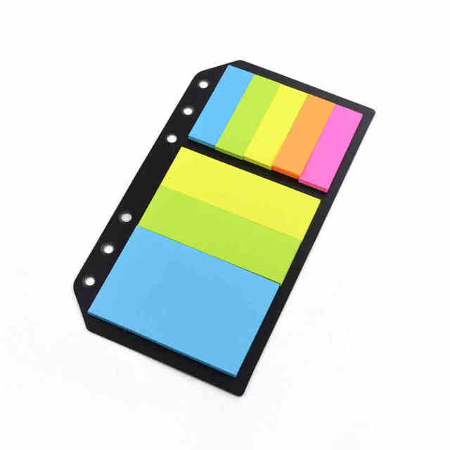 Stick notes paper Candy color Legal pad 240 sheets Sticky paper Memo Pad Office School Supplies mini note pad notepad