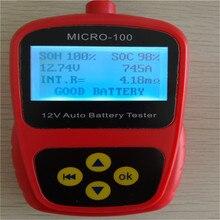 LANCOL MICRO-100 Автомобильный цифровой батарея тестер авто Стайлинг Инструмент для диагностики батарей Automotivo батарея цифра со светодиодный подсветкой дисплей