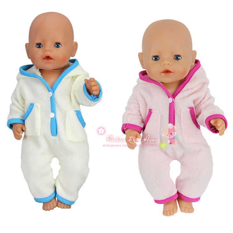 2color choose New arrival jumpsuits clothes Wear fit 43cm Baby Born zapf,  Children best  Birthday Gift 2color choose leisure dress doll clothes wear fit 43cm baby born zapf children best birthday gift only sell clothes