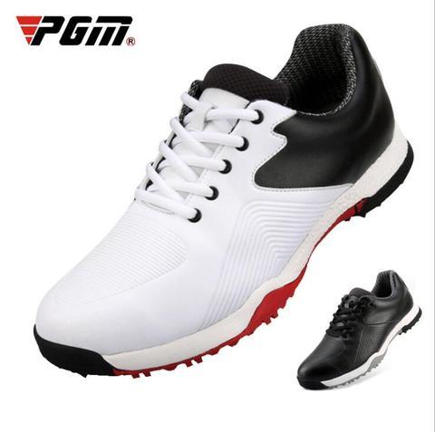Tênis de Golfe dos Homens à Prova Acima do Treinamento Tênis de Golfe dos Esportes Dwaterproof Água Respirável Rendas Leves Sapatos Atléticos Tamanho 39-44 D0756 Pgm