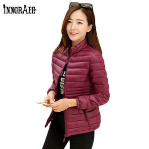 de5985d6dc6 INNGRAEE Autumn Women Jacket Coat Female Winter Outerwear