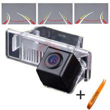 CCD Камера трек Вспять Траектория Назад Камера Заднего вида Интегративной Динамический Путь Для Nissan X-Trail Солнечный водонепроницаемый HD