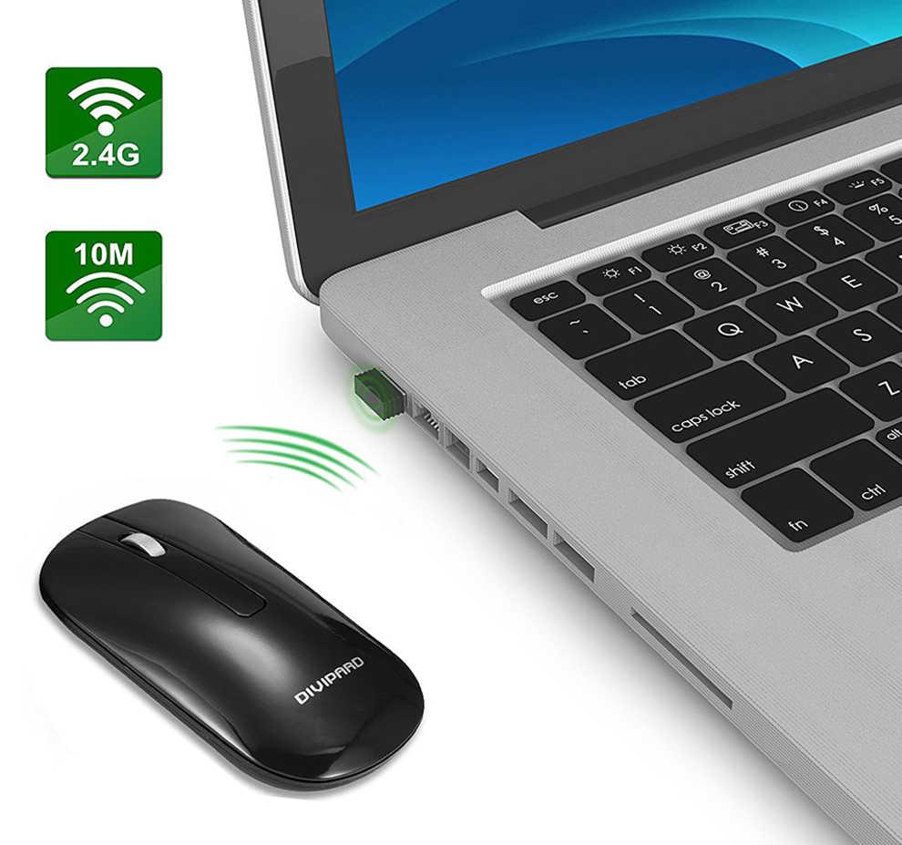 26b3735bb0f ... 2.4GHz Wireless Keyboard and Mouse Combo Round Key Set Smart  Power-saving Slim Combo