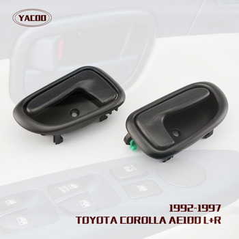 1 PAIR INTERIOR DOOR HANDLE FOR TOYOTA COROLLA AE100 1993-1997 image