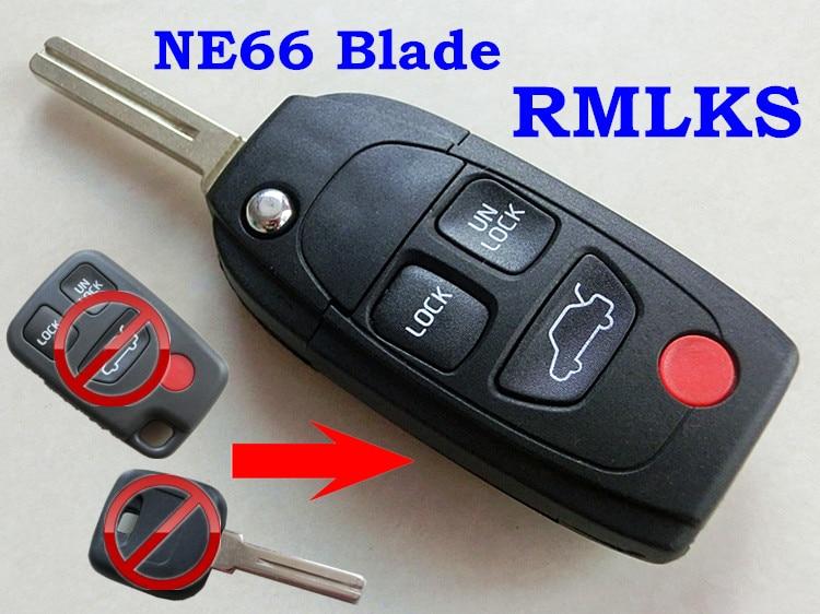 rmlks repalcement remote flip folding key fob case shell fit forrmlks repalcement remote flip folding key fob case shell fit for volvo s40 v40 v70 v90 s60 s70 s80 s90 xc70 xc90 c70 in car key from automobiles