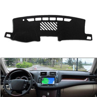 Dongzhen Fit For Toyota Crown 2010 2012 Car Dashboard Cover Avoid Light Pad Instrument Platform Dash