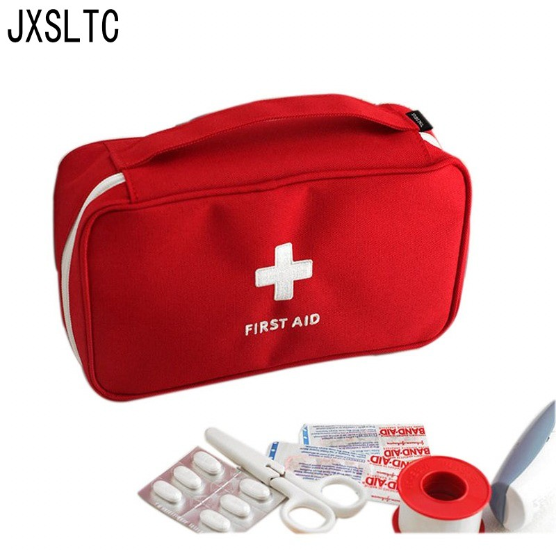 JXSLTC zīmola pārnēsājamo pirmās palīdzības maisiņu neatliekamās medicīniskās izdzīvošanas komplekta medicīna Tukšs ceļojumu uzglabāšanas soma āra sporta kempinga rīks