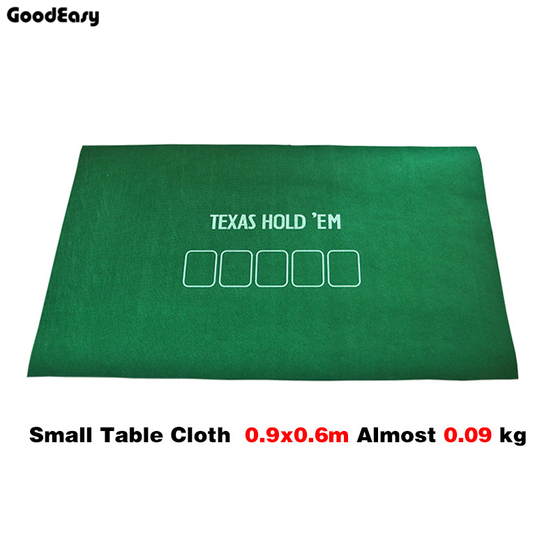 90* 60cm Poker Table Cloth Casino Baccarat Fichas Poker Texas Hold'em Fietro Felt TableCloth Non-woven Fabrics Layout
