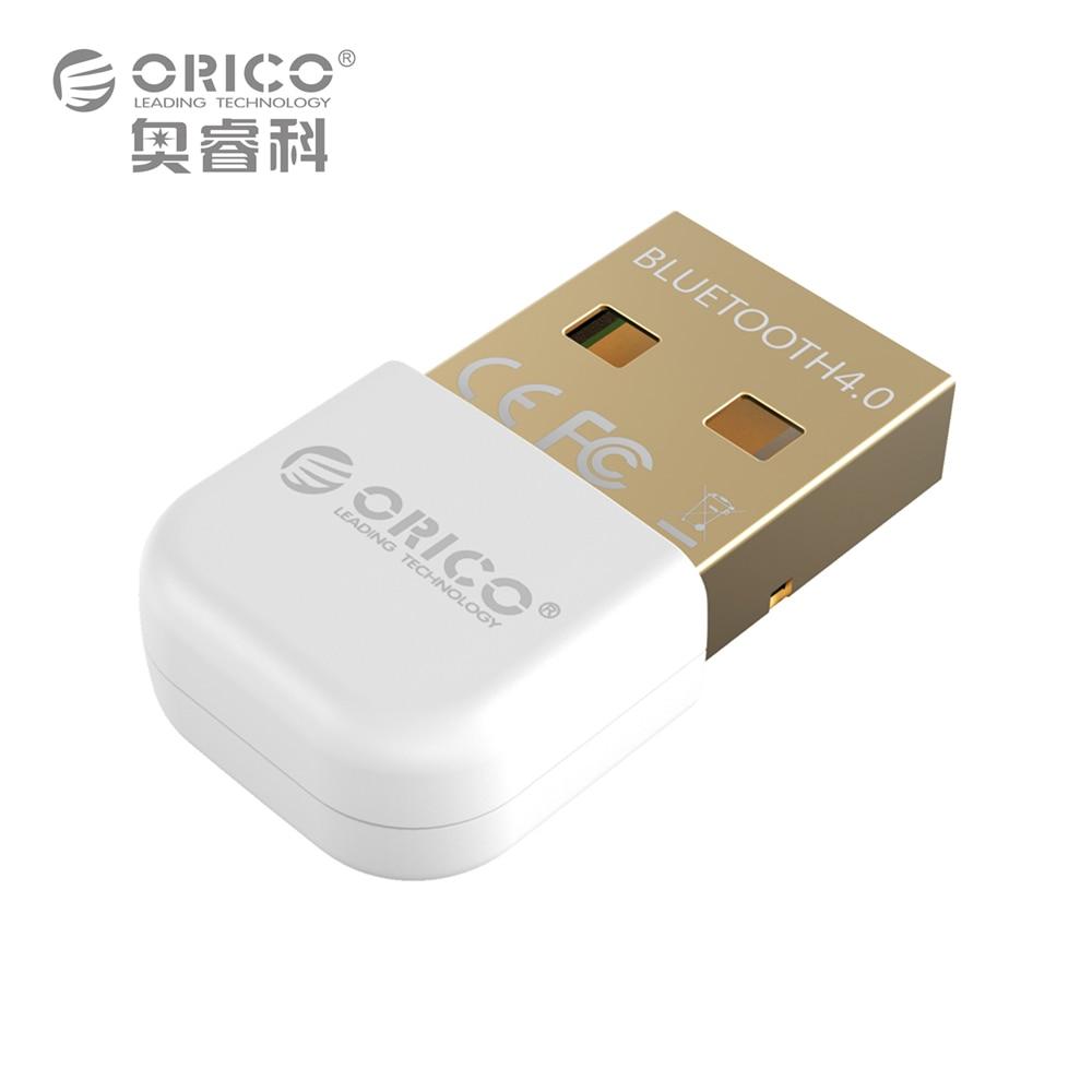 ORICO BTA-403-WH Mini Bluetooth4.0 Adapter Dongle CSR8510 Support Windows10 Win8 Win7 Vista XP X86 X64 USB Bluetooth 4.0