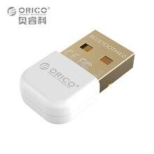 ORICO BTA-403-WH Мини Bluetooth4.0 Адаптер Dongle CSR8510 Поддержка Windows10 X86 Win8 Win7 Vista, XP X64 USB Bluetooth 4.0