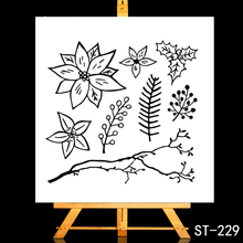 ZhuoAng Plant greeting card Transparent and Clear Stamp DIY Scrapbooking Album Card Making DIY Decoration Making zhuoang plant greeting card transparent and clear stamp diy scrapbooking album card making diy decoration making