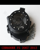 Fit For Honda CBR600RR CBR 600 F5 2007 2012 Motorcycle Engine Stator Cover See Through Black