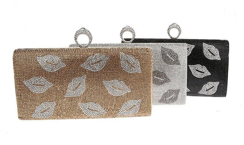 ФОТО White Crystal Evening Bags Luxury Diamond Clutch Bags Silver Color Party Bags Women Wedding Pochette Bride Handbags SMYCWL-A0031