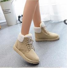 Nouveau 2016 mode femme chaud cheville bottes lacent femmes bottes bottes de neige et automne hiver femmes casual chaussures F022