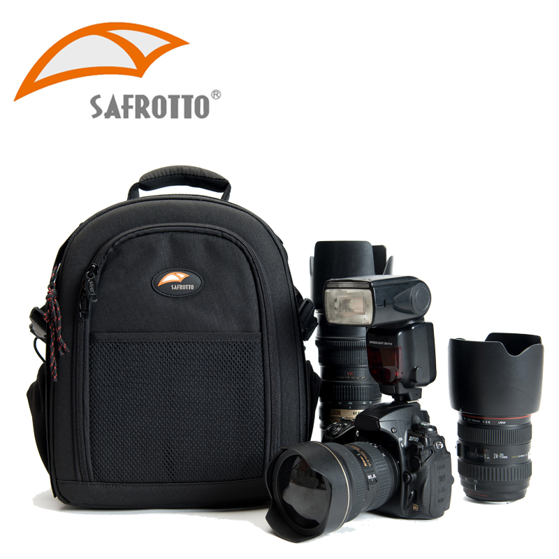 Safrotto Professional Photo Accessories Video Protector Outdoor Bag Black Shockproof Divider Set DSLR Rain Cover Camera Backpack jealiot multifunctional professional camera shoulder bag digital camera waterproof shockproof video photo case for dslr canon