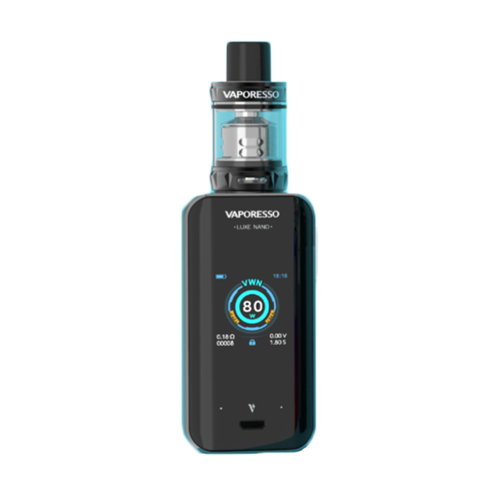 D'origine 80 W Vaporesso Luxe Nano kit d'écran tactile avec 2500 mAh batterie intégrée et 3.5 ml/2 ml SKRR-S Mini Réservoir e-cig Kit VS LUXE - 5