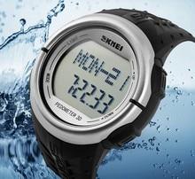 LED al aire libre Deportes Relojes Podómetro Contador de Calorías Monitor Del Ritmo cardíaco Digital Reloj Del Deporte de Fitness para Mujeres de Los Hombres Relojes de Pulsera