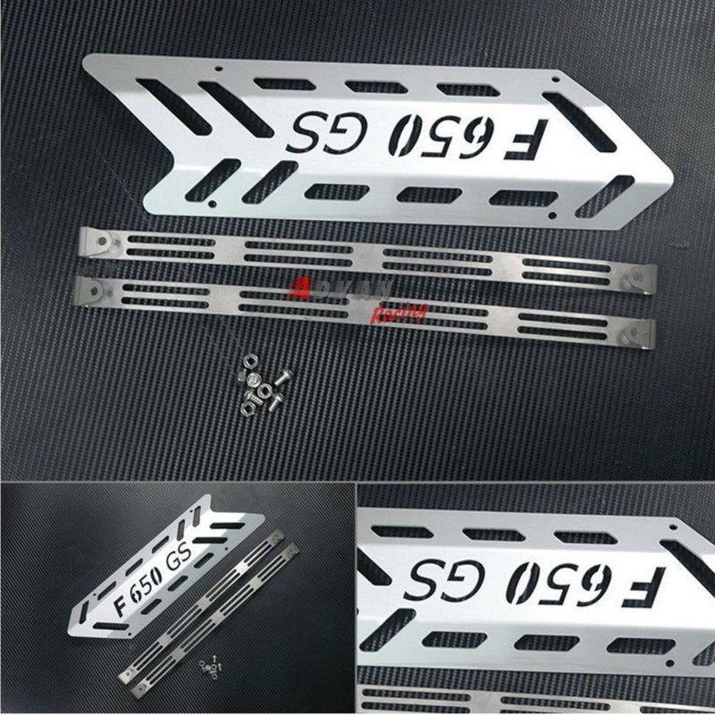 Aluminium Rear muffler shield Guard Cover Fit for BMW F700GS aluminium
