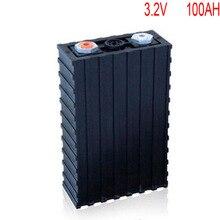 4 шт./лот Перезаряжаемые 3,2 В 100Ah литий-ионный LiFePO4 Батарея модель батареи для EV/UPS/BMS/Мощность для хранения/солнечный Мощность системы