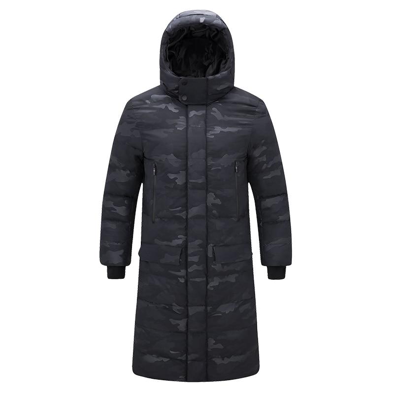 Winter Jacket Men Long Hooded Thick Warm Parka Windbreaker Jackets Camouflage Army Camo Male Military Winter Coat Men 4XL 5XL