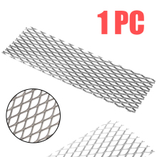 1pc Silver 50mm*165mm Recycled With Heat Corrosion Resistance Metal Titanium Mesh Sheet Electrode For Electrolysis 1pc brass metal thin sheet plate 3mm thickness welding metalworking craft diy tool 60x100mm with corrosion resistance