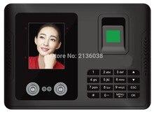 Face recognition comparecimento da impressão digital máquina comparecimento do tempo Facial Fingerprint reader USB downlaod O RELATÓRIO excel