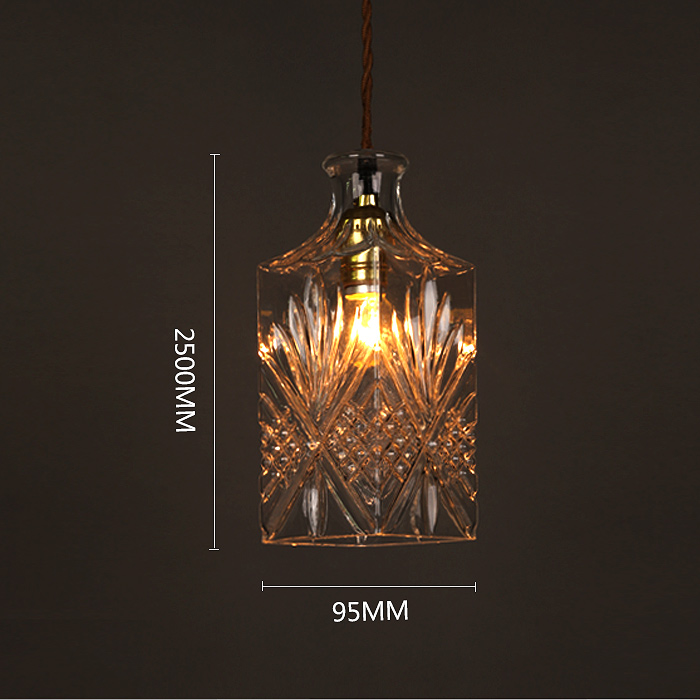 Antique decanter glass wine bottle ceiling lamp light retro pendant antique decanter glass wine bottle ceiling lamp light retro pendant lighting decor cafe bar club in pendant lights from lights lighting on aliexpress aloadofball Choice Image