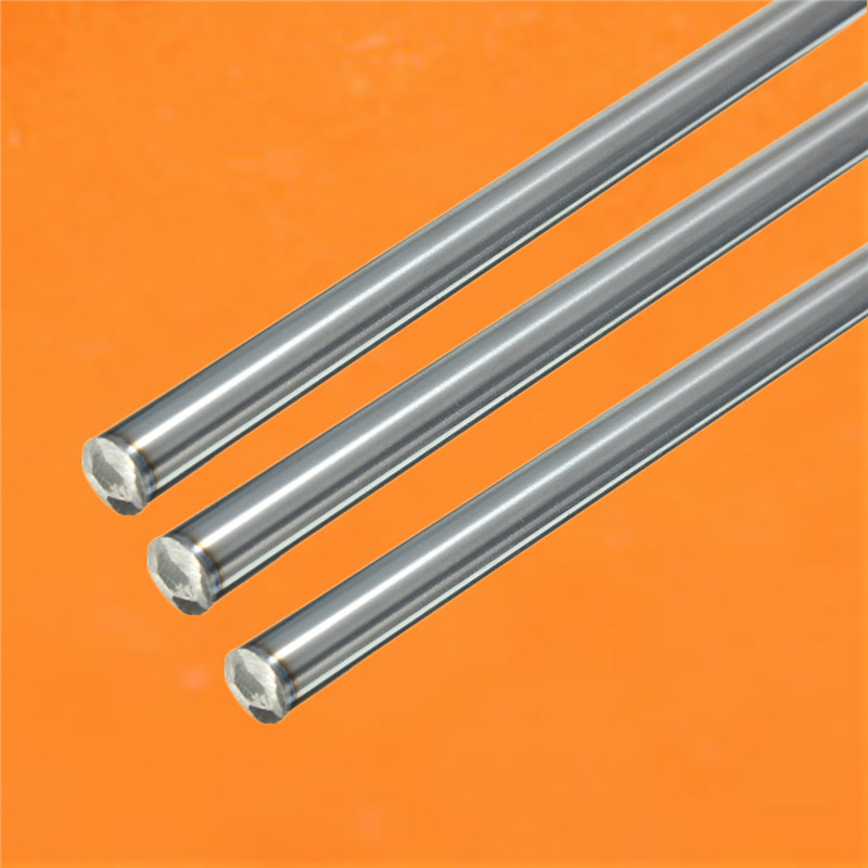 2x OD 8mm x 500mm Cylinder Liner Rail Linear Shaft Optical Axis chrome for Drive Shaft 3D Printer Parts Accessories 4pcs od 16mm x 800mm cylinder liner rail linear shaft optical axis