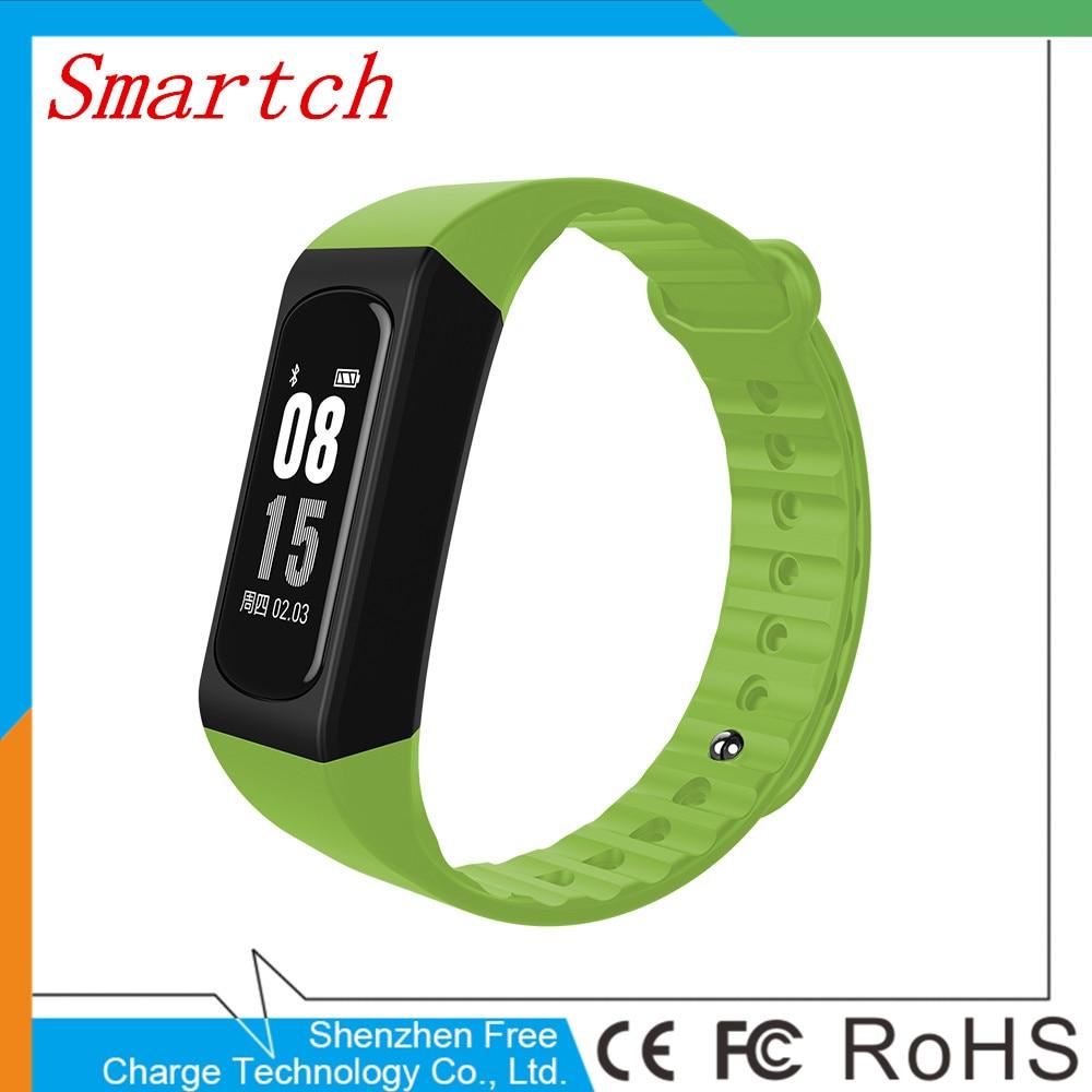 Smartch 2017 new smart Wristbands IP67 waterproof W4S Bluetooth 4 0 smart bracelet heart rate monitor