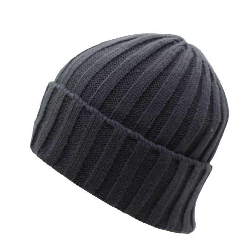 قبعة صوف رجالي دافئة 1