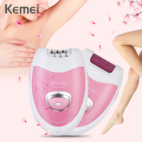 Hot Selling 2 In 1 Rechargeable Electric Epilator Cordless Hair Remover Skin Care Lady Epilator Electric