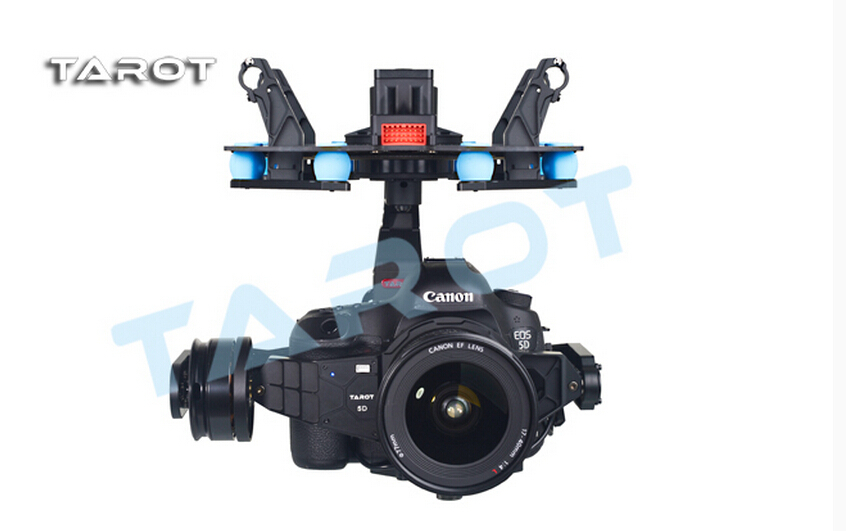 F14618 Tarot 5D3 3-Axle Stabilization Gimbal TL5D001 Integration Design for Multicopter FPV 5D Mark III DSLR Camera цена