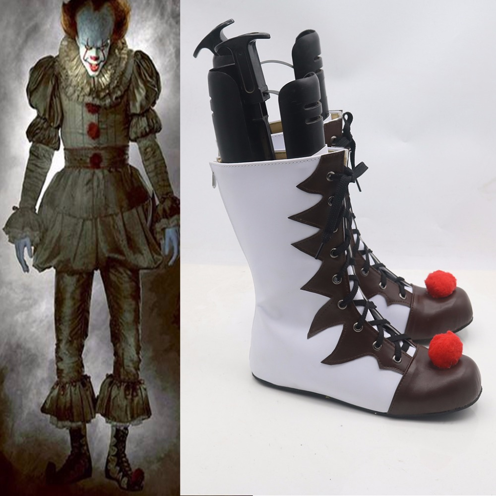Film Stephen King's It Richard Cosplay chaussures bottes accessoires Halloween Cosplay chaussures accessoires L0713