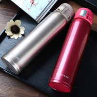 Guaranteed 100 Hot Double Wall Stainless Steel Coffee Thermos Cups Mugs Thermal Bottle 380ml Thermocup Vacuum