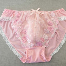 2019 Lace Sissy Briefs Panties Sexy Lingerie for Gay Underwear Male Bri