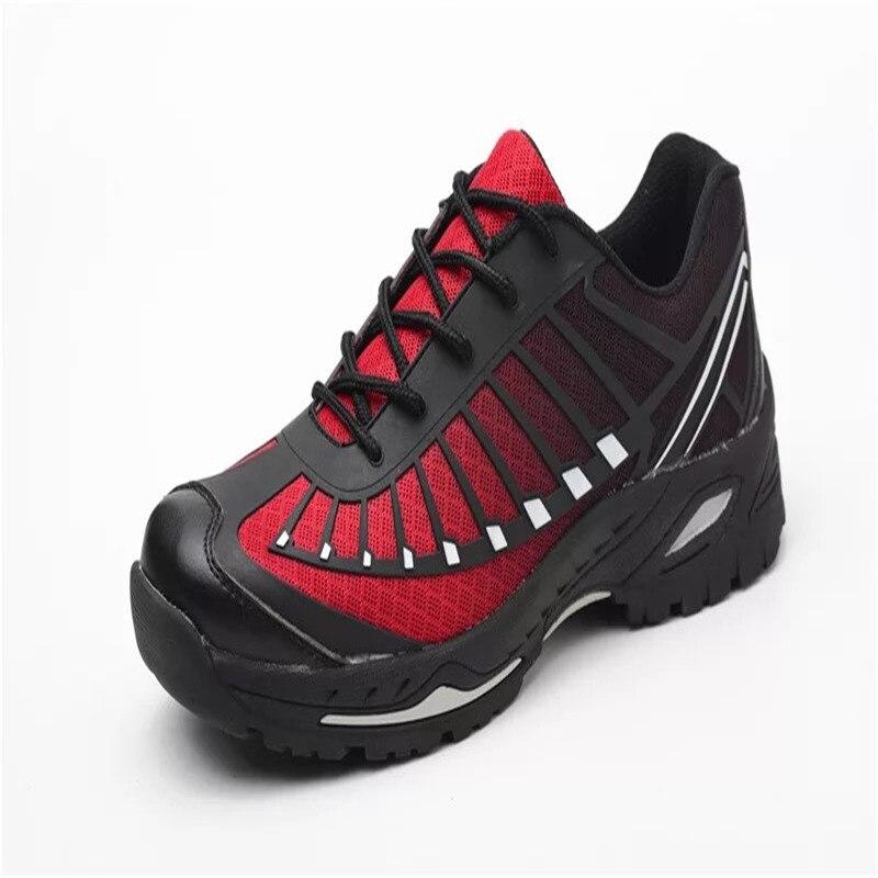 brand plus size35-46 Mens Steel Toe Cap Work Safety Shoes Men Ankle Sneakers Platform Labor Insurance Shoe Construction Site Sec(China)