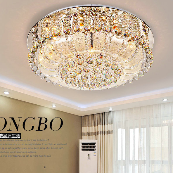 Us 183 57 32 Off Modern Led Ceiling Lights Plafonnier Clic Light Luxury Crystal Lamp E14 Diameter 50 60 80cm In