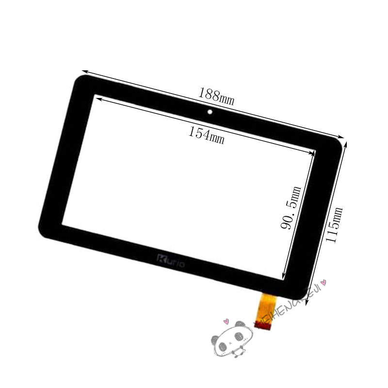 7Tablet PC Touch Screen Digitizer Glass For kurio 7S C13000 Free Shipping