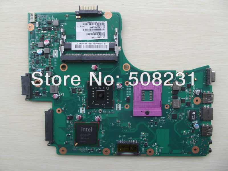 Wholesale V000225020 laptop motherboard for Toshiba C650 C655, 100%Tested and guaranteed in good working condition  wholesale v000225020 laptop motherboard for toshiba c650 c655 100