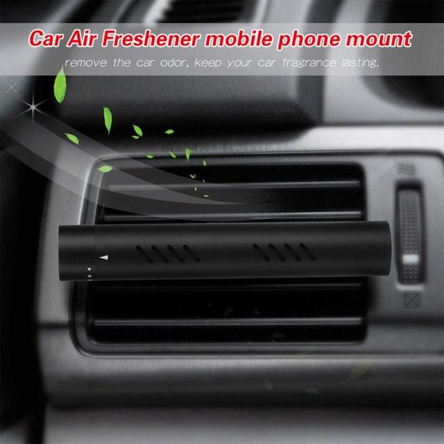 VODOOL 8 Vents Aluminum Car Air Freshener Perfume Auto Car Air Conditioning Clip Fragrance Diffuser Air Purification Fragrance