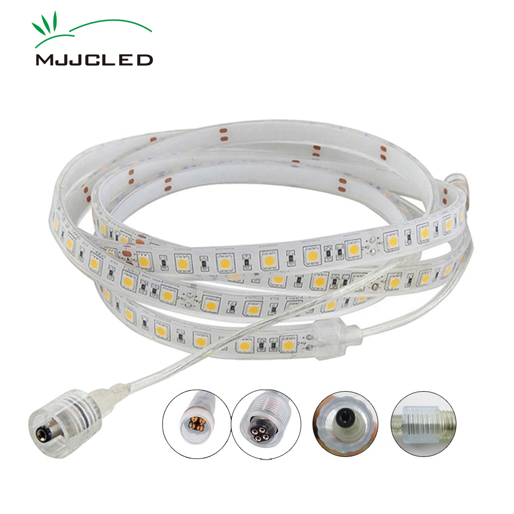 Outdoor Waterproof Solar Led Strip Light Smd 5050 5m: 12V LED Stripe Outdoor IP68 Waterproof 5M SMD 5050