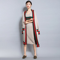Samiarit Women Long Cardigans Open Stitch Poncho Knitting Thick 0 8kg Sweater Cardigans Oversize Heavy Cardigan