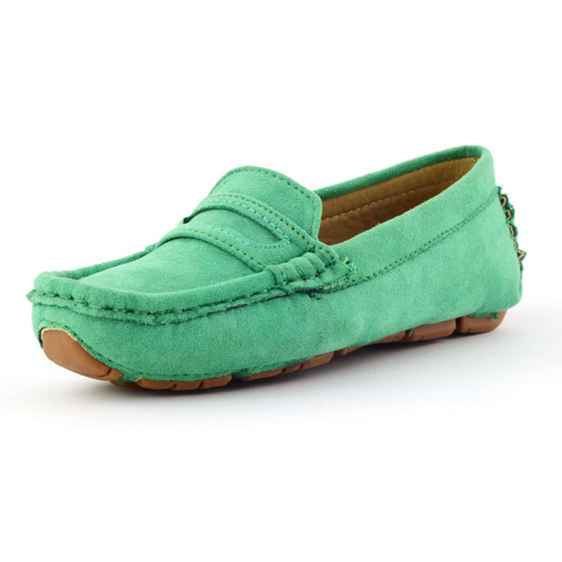 Baby Toddler Girls Slip on Moccasin Boat Shoes Breathable Loafers Pea Oxfords US