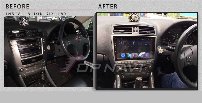 2 din car radio For Lexus IS250 IS350