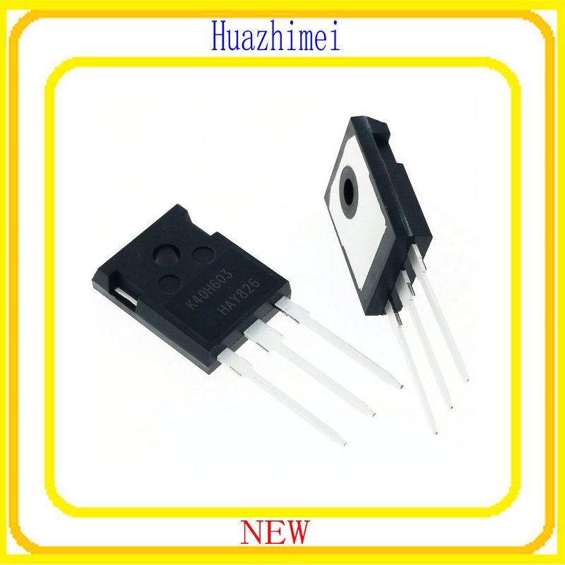10PCS 100PCS/lot NEW K40H603 IKW40N60H3 IKW40N60 40N60 IGBT 40A 600V 20pcs lot k2865 600v 2a