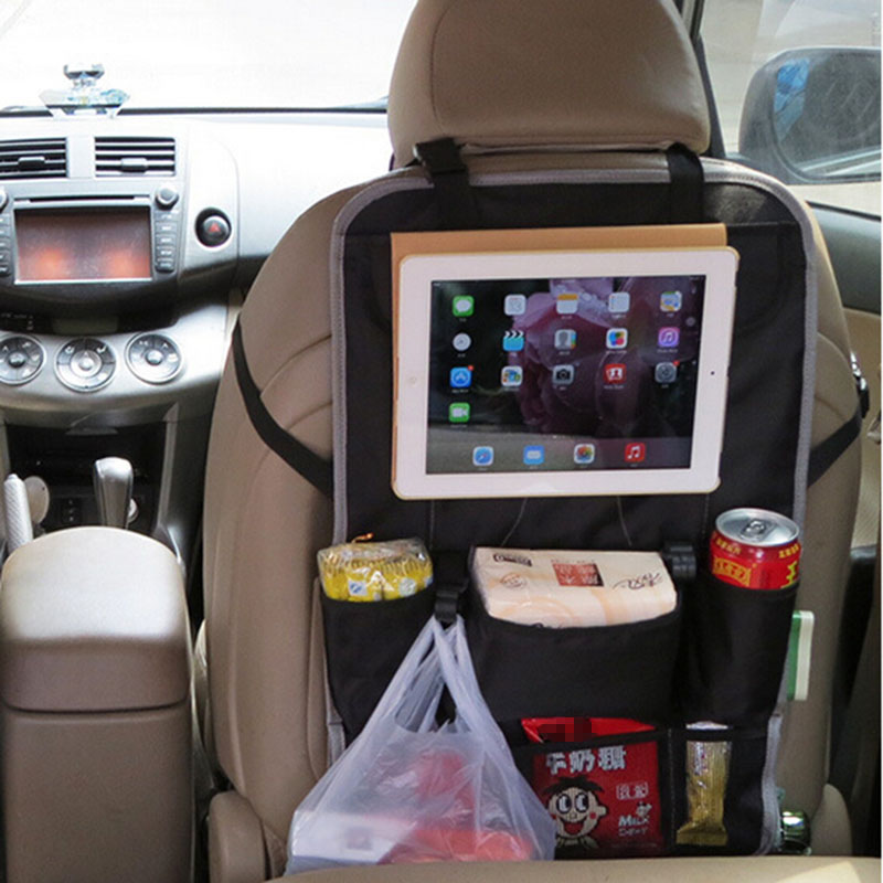 Multi Travel Foldable Car Back Seat Pockets Organizer With Holder For Ipad In Automobiles Covers From Motorcycles On Aliexpress