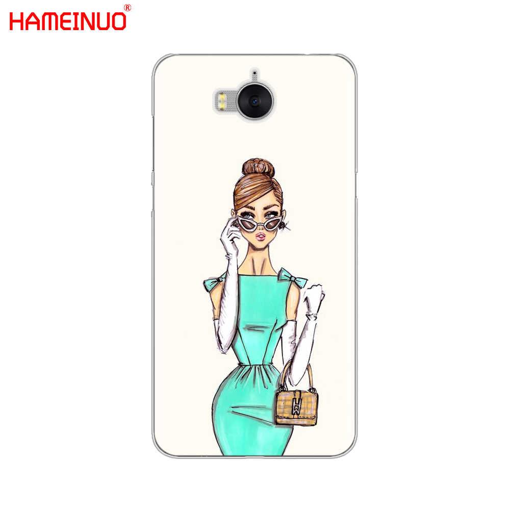 Hameinuo Mooie Liefde Jurk Winkelen Meisje Mobiele Telefoon Cover Case Voor Huawei Honor 3C 4X 4C 5C 5X6 7 y3 Y6 Y5 2 Ii Y560 2017