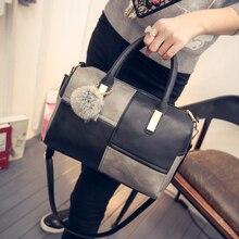 Taschen 2016 frühjahr und sommer mode patchwork BOSS damen für mode handtasche schulter kreuzkörper eimer handtasche