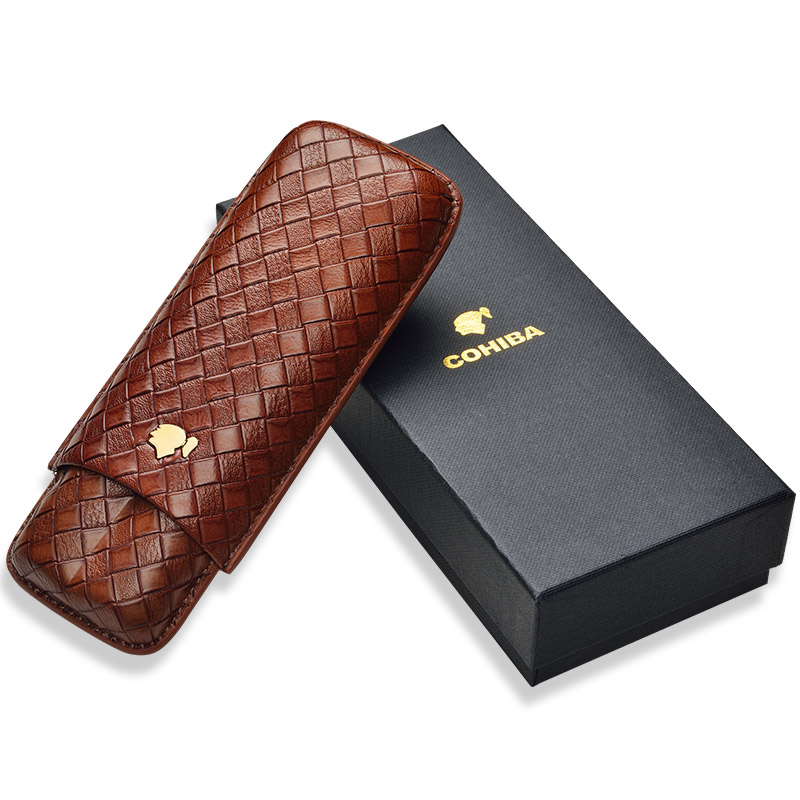 CIGARLOONG Cigar Moisturizing Set Travel Moisture Cover Portable Cigar case 2 Pack Protective Case CD 1016 in Cigar Accessories from Home Garden
